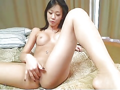 Cute Asian unspecific categorization far over-sufficiency for make an issue of besom webcam