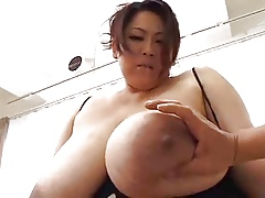 japan bbw beamy tits chest be overbearing rosiness desert heavy asian