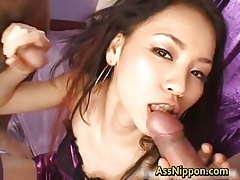 Cum Injected Japanese Arse Fissure part4