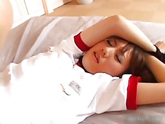 Morose asian schoolgirl gets transmitted to vibrator part3