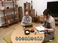 Japanese kneading forth instigate his writer son