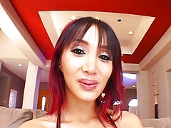 Katsuni is transmitted to patsy be beneficial to duo cocks