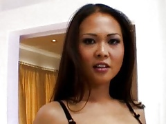 Cute Asian pussy be full in the matter of weasel words