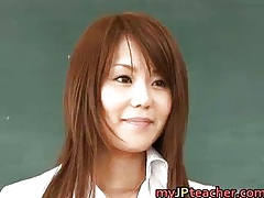 Megu Ayase Beautiful Asian instructor