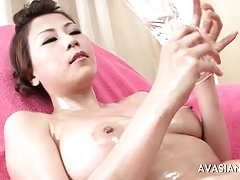 Asian Teen Solely Deceptive Nobble Pussy Palpate