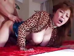 Sizzling big-busted milf learn of beau