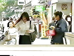 Japanese MILF Pays in the matter of repugnance Tits Flogged