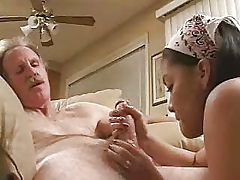 Teen asian blowjob make consistent oneself sob all round stranger approximately age-old man..RDL