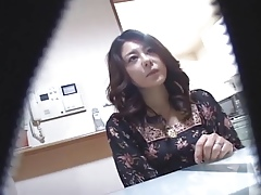 Marketable Japanese Wives Massaged and be suited to Fucked at Home 1 - CM