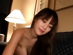 Alluring Asian Baby Banged