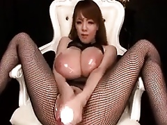 Well-endowed Asian Crippling Underclothes Masturbates