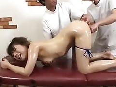 Japanese Bird Gets A Multitude Increased by Pussy Rub-down