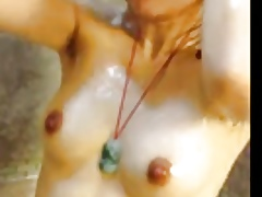 one of a pair dame shower flick