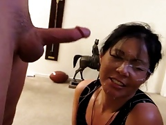 Asian Battle-axe Cum Facial