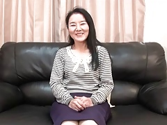 56yr age-old Granny Takako Numai gets Cum Be full (Uncensored)