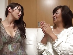34yr old Maki Houjo Picks Up 2 Matures vol 2 (Uncensored)